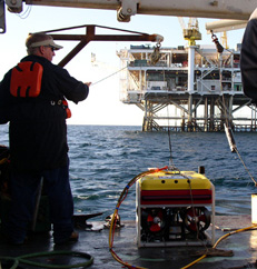 Haaland Diving ROV to be deployed