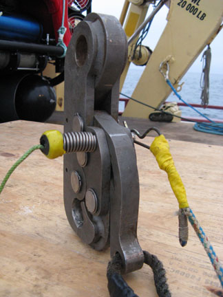 Sea Catch TR10 fitted with Hitch Pin Spring (HPS) modification