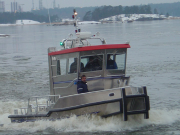 Oil Spill Boom Handling/Laying Workboat