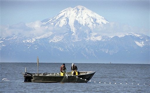 Set net fishing in Cook Inlet, Alaska (AP Photo/Al Grillo, File)